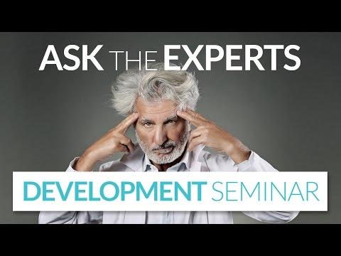 Development Seminar - Ask the Experts 2