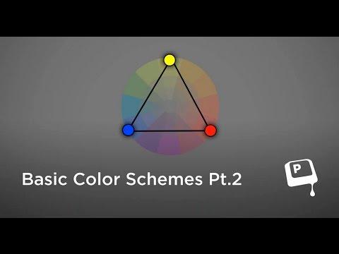 Basic Color Schemes Pt. 2 (CtrlPaint.com)