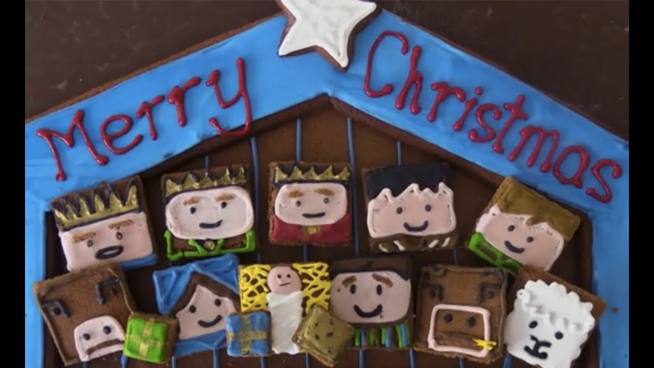 Christmas Story In Cookies Nativity Christmas Story
