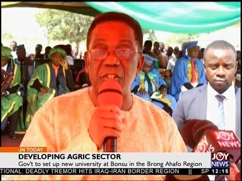 Developing Agric Sector - Joy News Today (13-11-17)