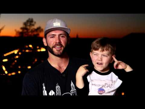 OUTTAKES with Jake Arrieta and his son Cooper