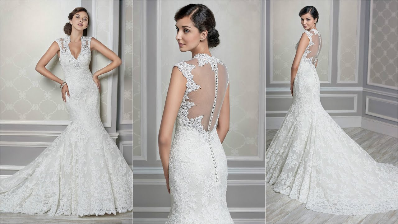 Bridal Dresses Online | Oleg Cassini Wedding Dresses | Lace Wedding ...