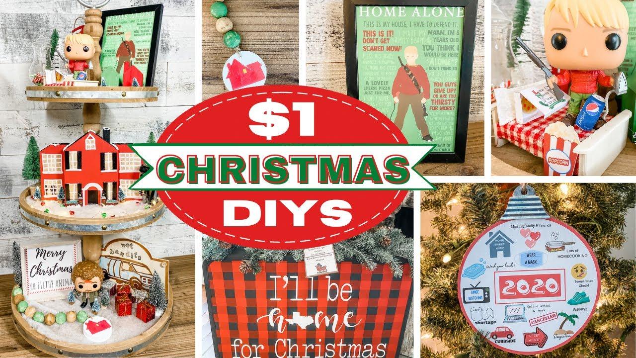 🎄 Dollar Tree Christmas DIYS 🎄 Home Alone Inspired & More