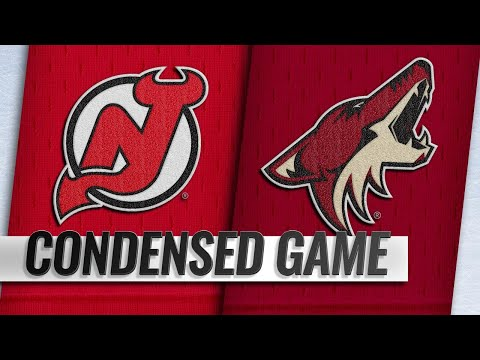 01/04/19 Condensed Game: Devils @ Coyotes