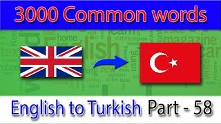 english to turkish   2851 2900 most common words in english   words starting with s