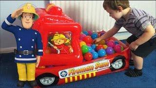 Fireman Sam Frankie Surprise Toys Fire Engine Inflatable Jupiter Fire Engine Feuerwehrmann Sam Show