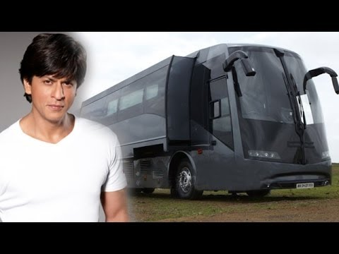 Vanity van of famous indian celebrities