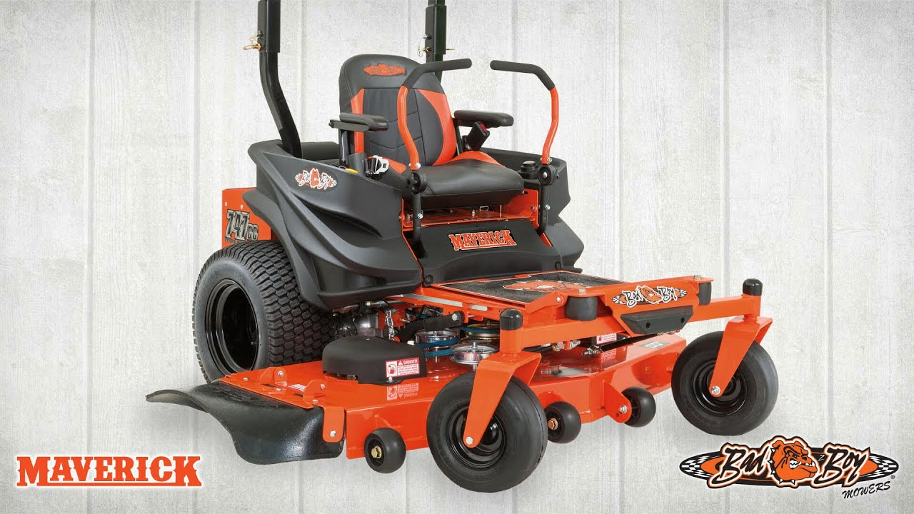 The All-New Maverick from Bad Boy Mowers!