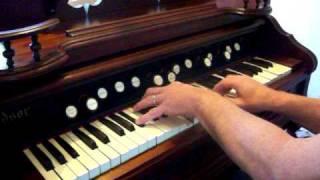 "Windsor Reed Organ ""The Old Rugged Cross"""