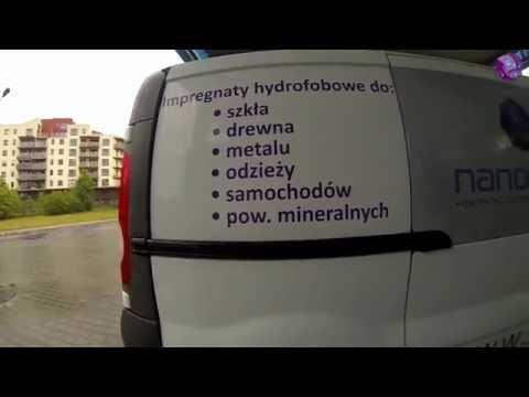 Hydrofobizacja lakieru auta