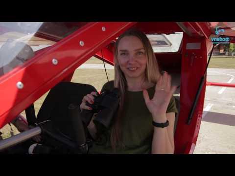 Парный полет на самолетах Одесса