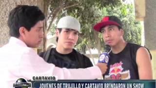 SHOW DE BREAK DANCE EN CARTAVIO (VALLE VISION)