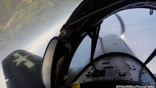Corsair Check Ride COCKPIT & GROUND VIEWS
