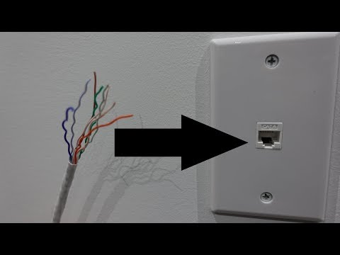 How To Punch Down A Cat6 Keystone Plug