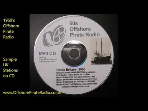 1960's Offshore Pirate Radio Stations on CD