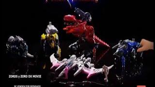 Потужність Zords доглядачів р Zords кон Figuras-DX кіно (Anuncio де Juguetes Бандай)