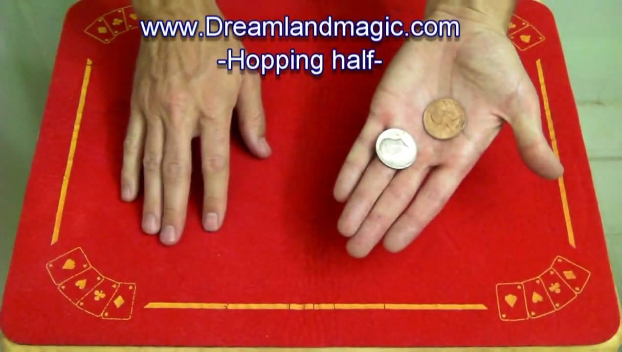 close up coin tricks