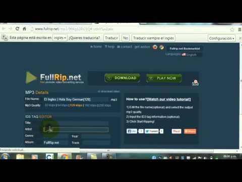 Primer tutorial-FullRip.Net-Descargar musica y videos gratis