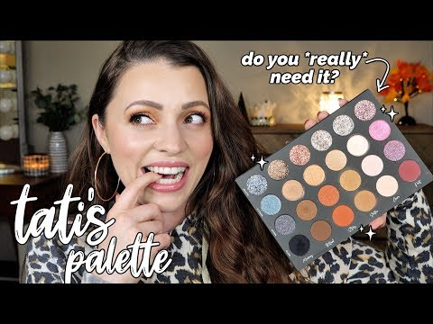 TATI BEAUTY PALETTE // Pros + Cons ... do you really *need* it? thumbnail