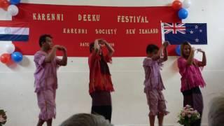 Karenni DeeKu Festival NZ 2016 - Kayaw dance