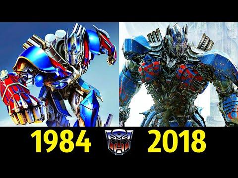 🚚 Оптимус Прайм - Эволюция (1984 - 2018) ! Все Появления 👊!