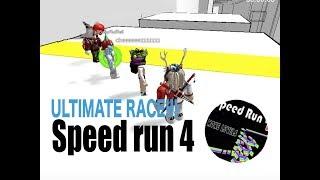 ROBLOX SPEED RUN 4 ULTIMATE RACE!!