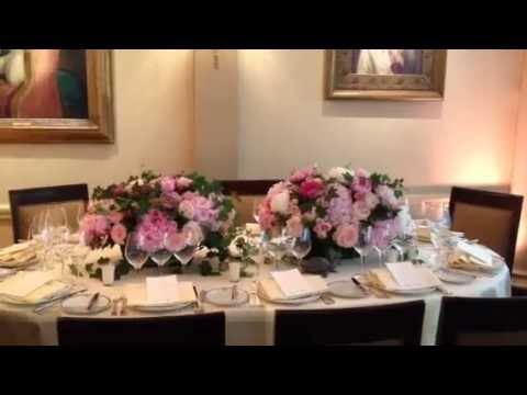 centre de table mariage pour fleurs fruits feuillages paris youtube. Black Bedroom Furniture Sets. Home Design Ideas