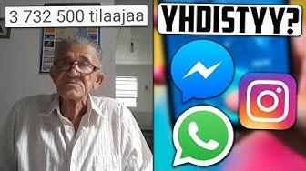 """Vanhus sai 3,7 miljoonaa tilaajaa viikossa? Whatsapp, Instagram ja Facebook Messenger """"yhdistyy""""?"""