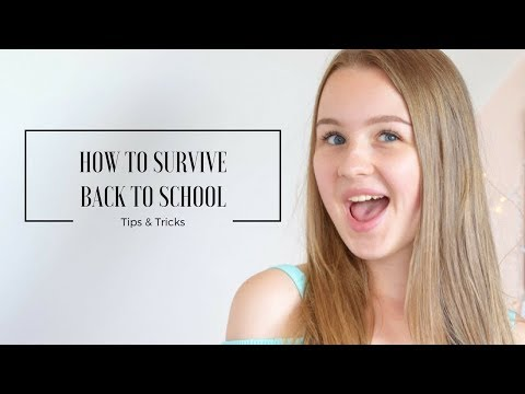 HOW TO SURVIVE BACK TO SCHOOL | Tips & Tricks