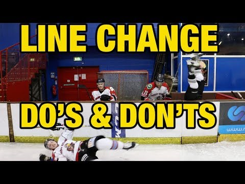Do's and Don'ts of how to Line Change in hockey