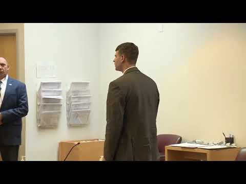Raw video: Nathan Carman appears again in NH courtroom