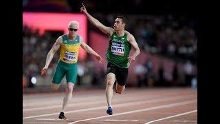 Men's 100m T13   Final   London 2017 World Para Athletics Championships