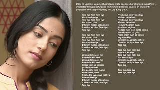 Gambar cover Tere Liye | Lata Mangeshkar | Roop Kumar Rathod | Late Madan Mohan