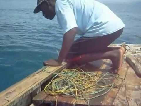 Haiti - Lobster fishing - 2012