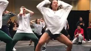 Lance Savali Choreography   Maddy Barnett dancing