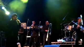 Ali Campbells UB40 perform Rat in me kitchen live @ Party by the seaside, Paignton 2014