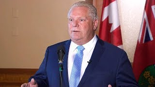 Doug Ford announces entire Hydro One board is being replaced