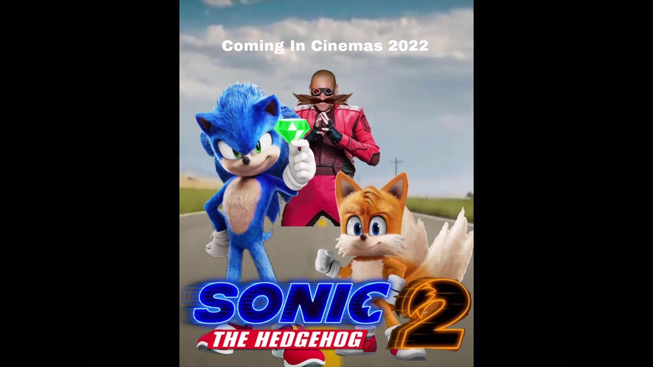 I Made A Different Sonic Movie 2 Fan Made Poster Youtube