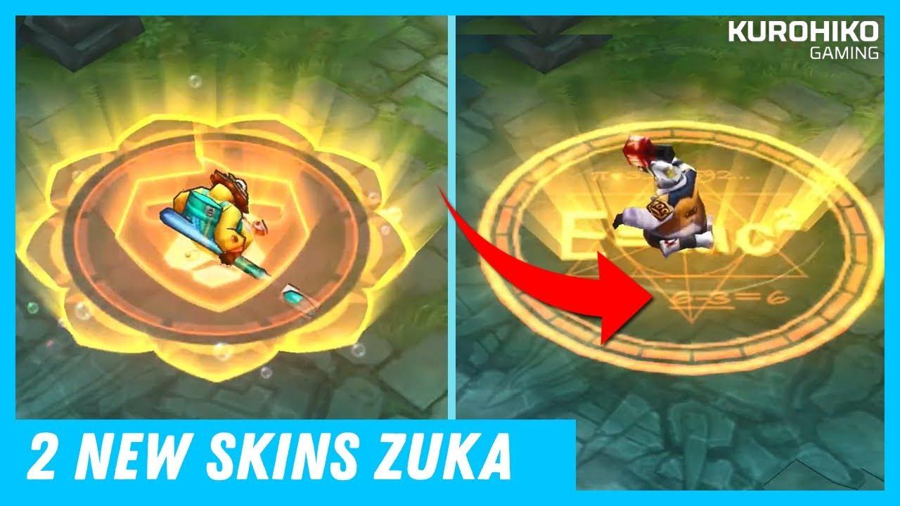 New Skins Zuka Arena Of Valor Aov