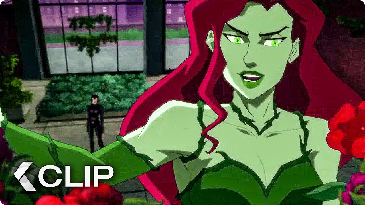 Catwoman Vs Poison Ivy Fight Movie Clip Batman Hush 2019 Youtube