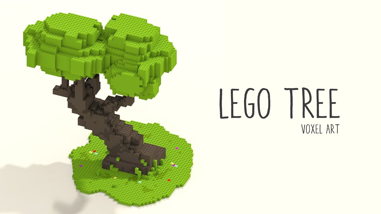 Voxel Art Tree - YoutubeDownload pro
