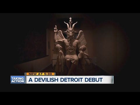 Satanic Temple to Unveil Goat-Headed Statue of the Devil in Detroit