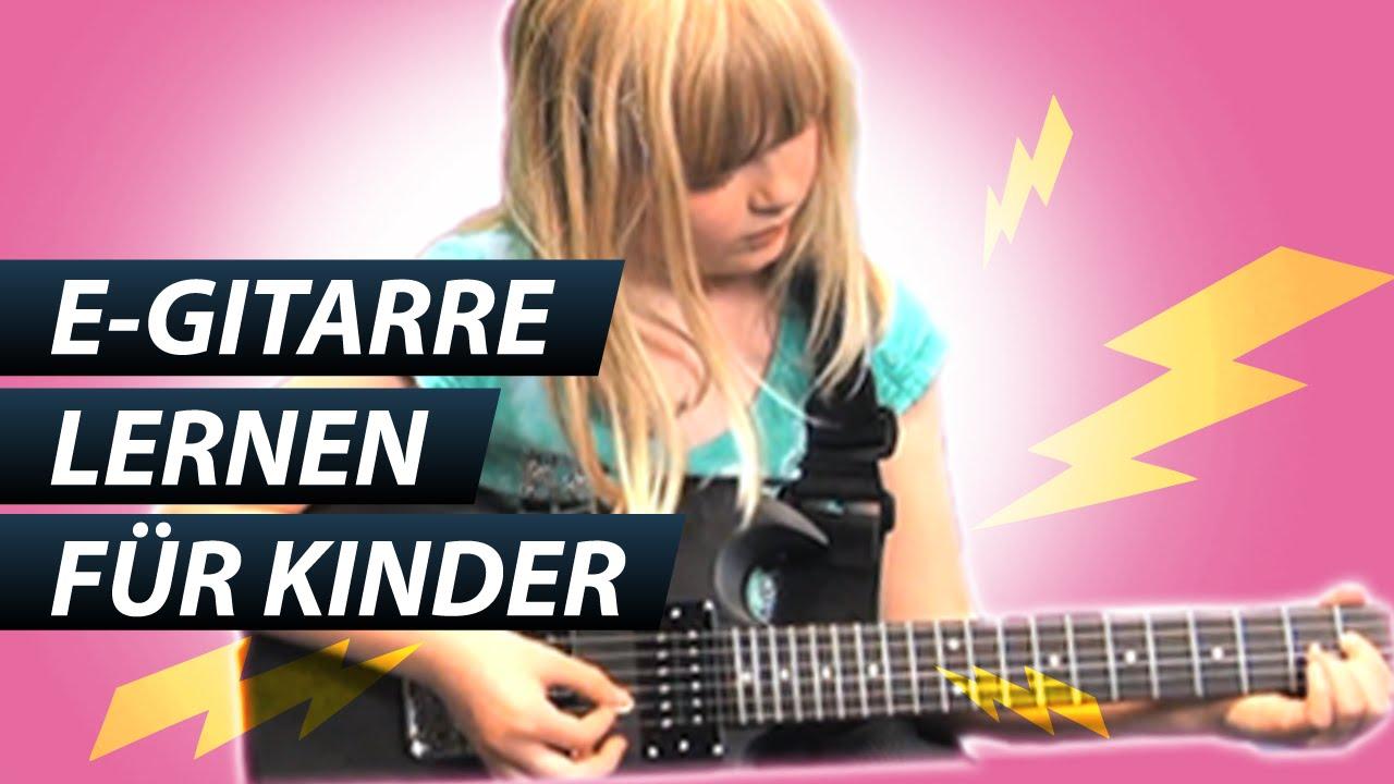 kinder e gitarre lernen f r kinder online lina spielt jetzt youtube. Black Bedroom Furniture Sets. Home Design Ideas