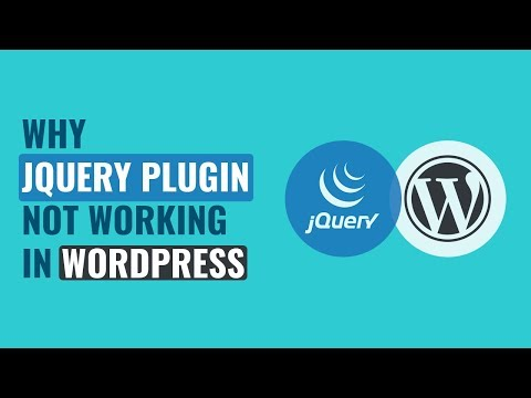 Why JQuery Plugin Not Working In WordPress