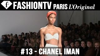 Chanel Iman - Fashionably Sexy Models in White Bikinis - FashionTV White Nights 2011 | FTV.com