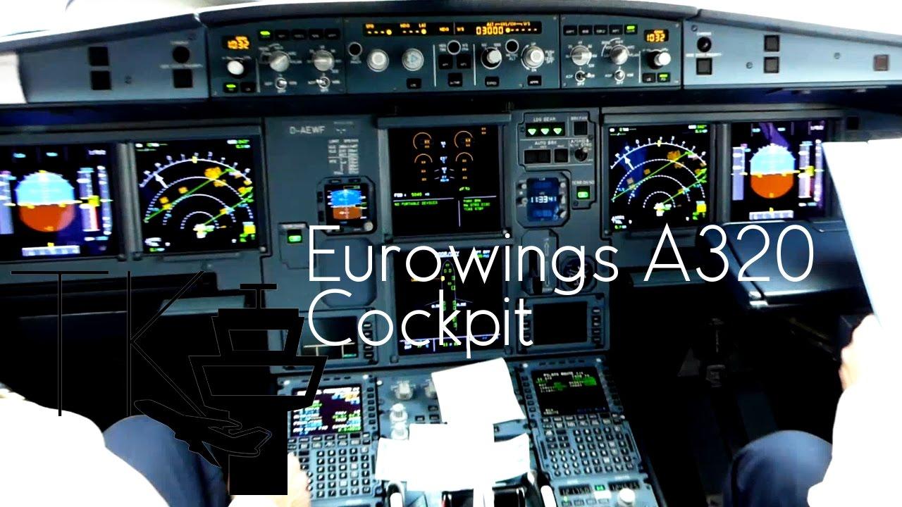 Visiting Eurowings A320 Cockpit at Berlin Tegel Airport