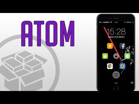 Atom | Accesos directos en tu lock screen (Tweak De Cydia)