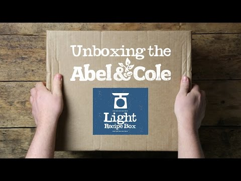 Unboxing an Abel & Cole Light Recipe Box
