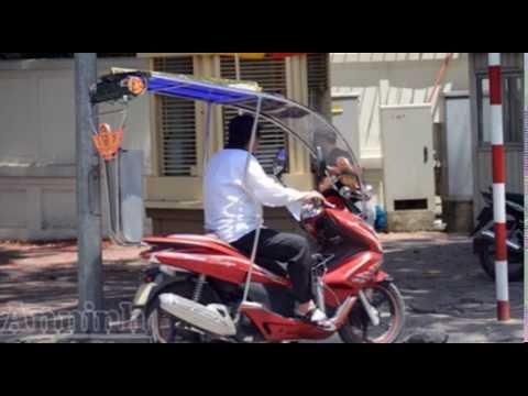 Những Kiểu độ Xe Máy Chống Nắng Nóng Chỉ Có ở Việt Nam - Xiteen News