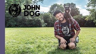 Komenda omiń – TRENING – John Dog